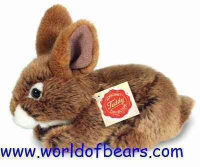 World of Bears  Hermann Original 93709 Rabbit Brown