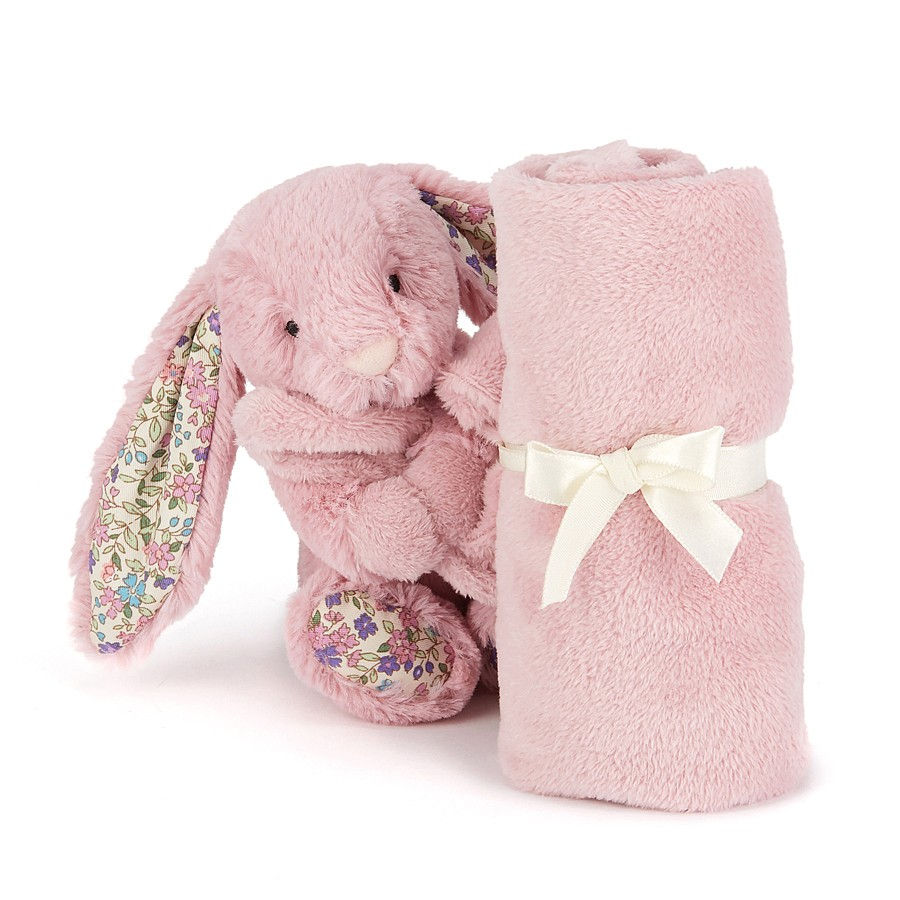 Jellycat Bbl4btp Blossom Tulip Bunny Soother With Organza