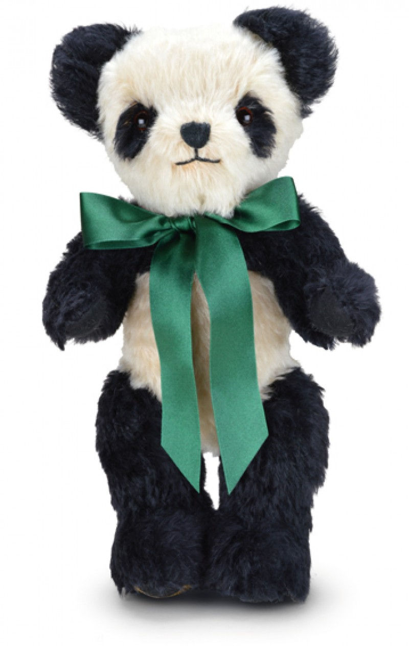 Merrythought Ap14bc Antique Panda Large With Draw String Bag