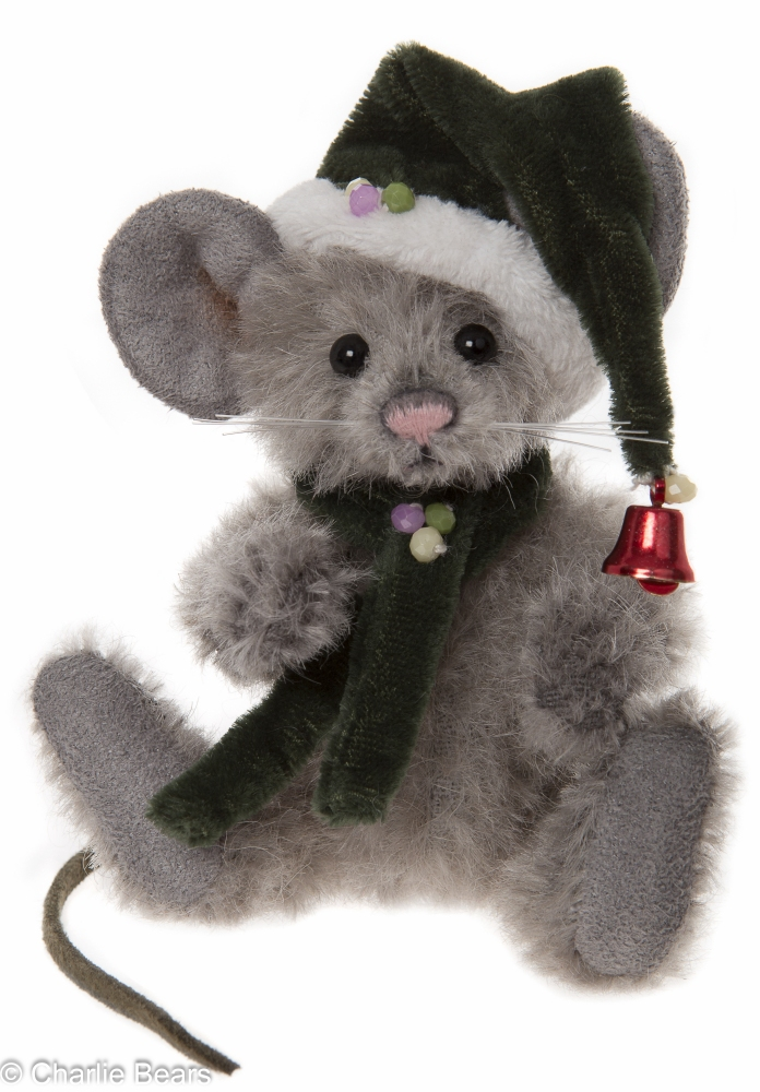 Charlie Bears Mohair Key Ring Sneeze Mouse