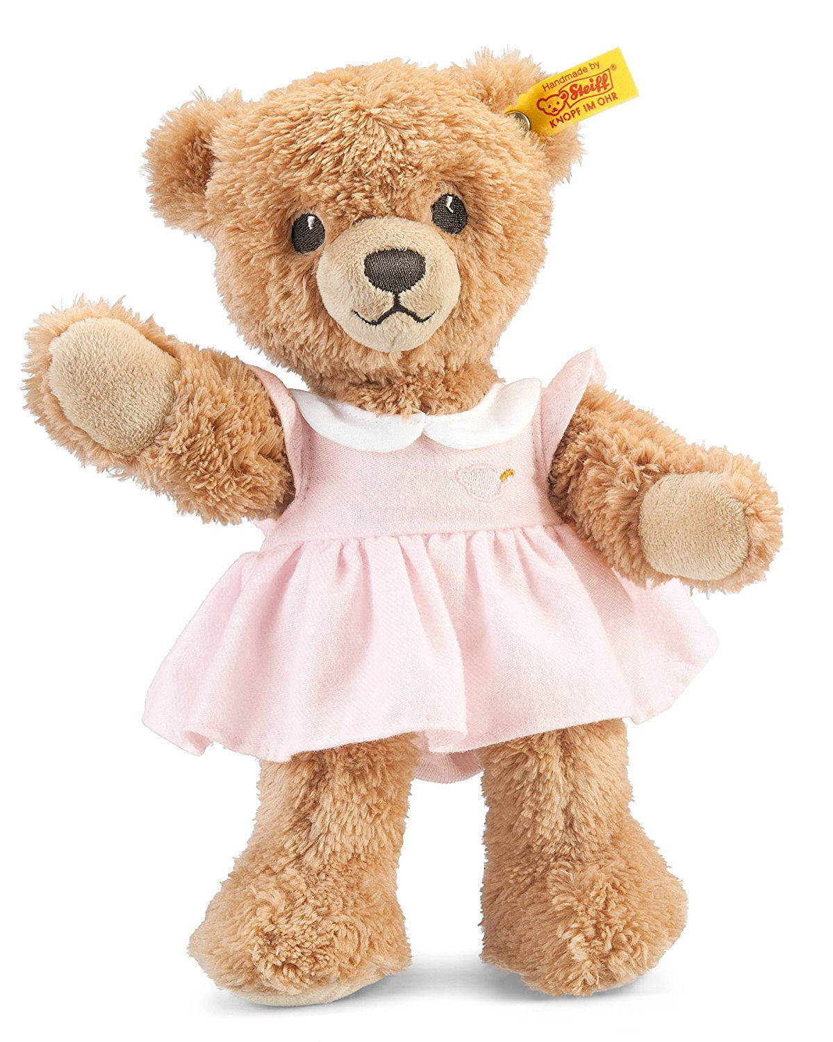 Steiff 239526 Sleep Well Bear Pink For Baby With Free