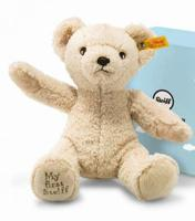 Steiff 664120 My First Steiff Teddy Bear Beige with gift box