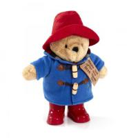 Rainbow PA1489 Classic Paddington Bear with boots with Organza Pull String Bag